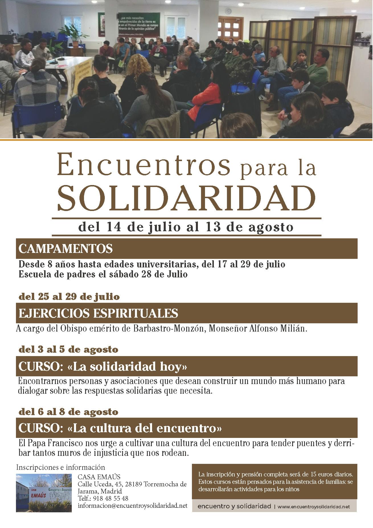 Encuentros para la solidaridad