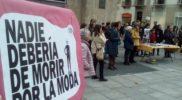 Concentración en Pamplona