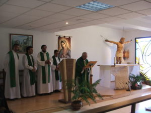 Eucaristia Aula Malagón Rovirosa 2010