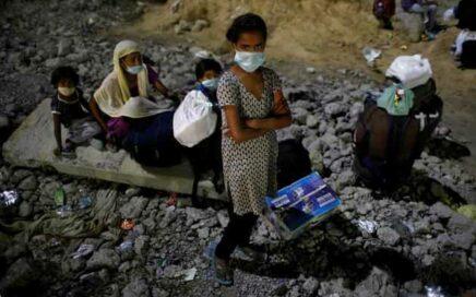 Niños esclavos en la mina