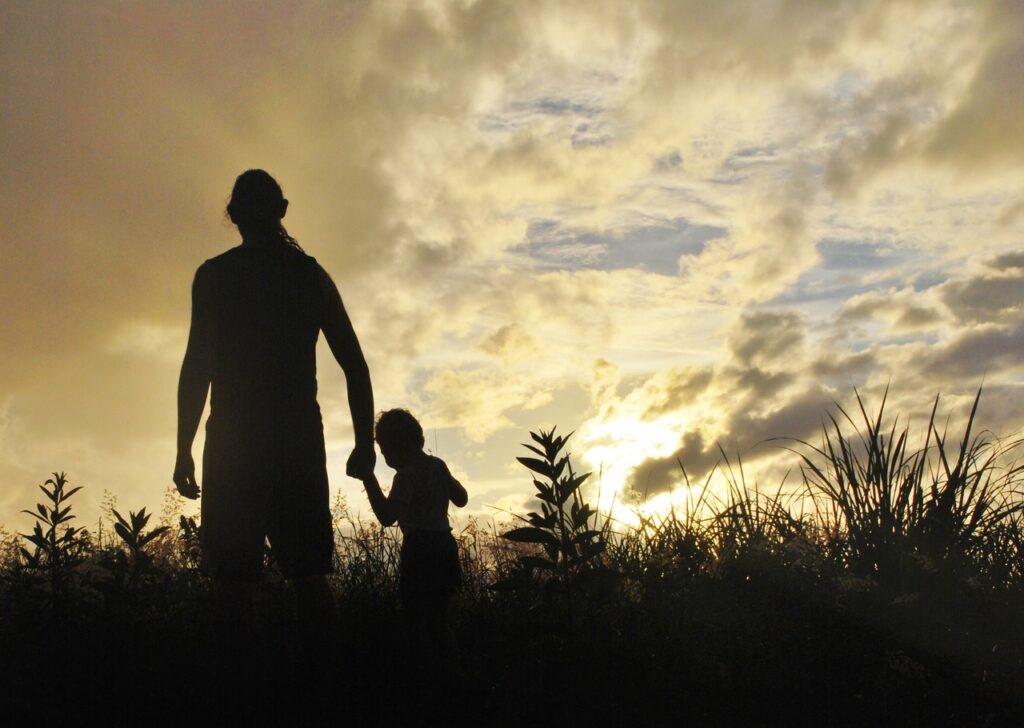 Padre e hijo - transmitir valores
