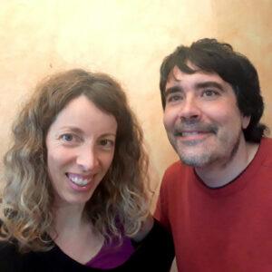 Laura Pueyo y Miguel Santiso