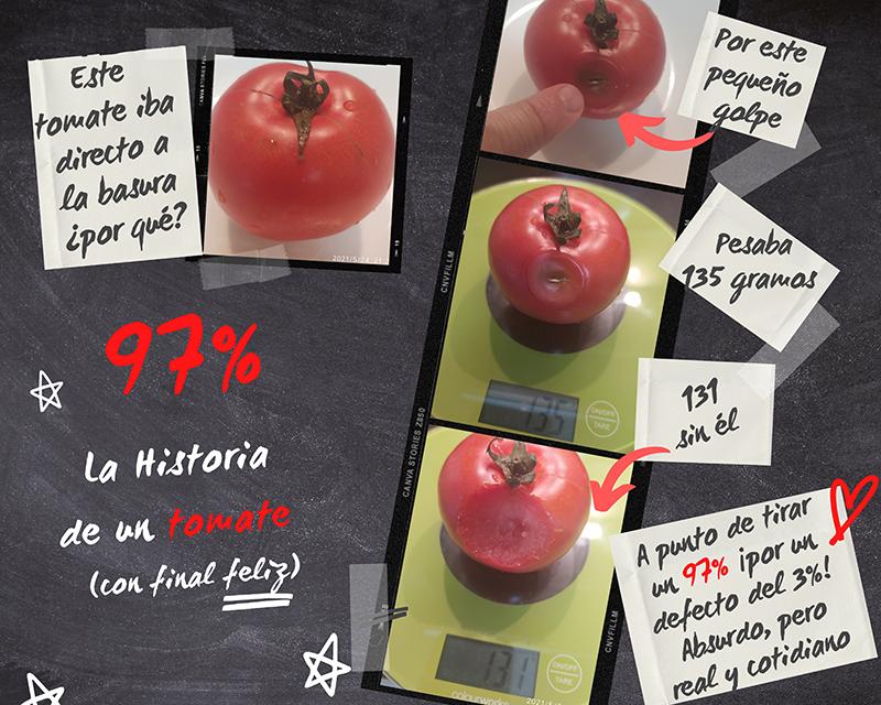 Historia de un tomate